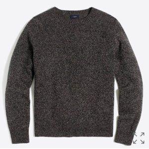 J. Crew Gray 100% Lambswool Pullover Sweater